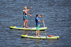 Paddle-boarding on the Ottawa River in Ottawa, Ontario (Ullysses) Tags: paddleboarding watersports ottawariver summer été rivièredesoutaouais ottawa ontario canada