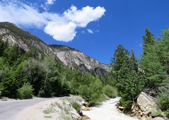Snow Melt (Patricia Henschen) Tags: chaffeecounty sawatch range mountains mountain mtprinceton chalkcreek nathrop colorado canyon cascadefalls sanisabelnationalforest waterfall county road backroad countyroad162 chaffee pathscaminhos