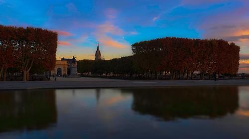 Montpellier sunset