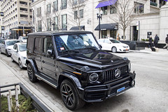 G-Thing (Hertj94 Photography) Tags: mercedes benz g 63 amg chicago illinois gold coast 2019 canon t3 march