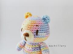 SS 19 bear (mochillery) Tags: amigurumi crochet plushies cute handmade mochillery bear multicolor