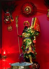 Guan Gong (█ Slices of Light █▀ ▀ ▀) Tags: 關官 guan gong 关官 关羽 yu 關羽 chinese hero god shrine worship altar folk religion confucianism taoism buddhism red coffee shop kopitiam ss2 pj petaling jaya 八打灵 八打灵再也 selangor 吉隆坡 kuala lumpur kl urban 马来西亚 malaysia 馬來西亞 sony rx100 rx100va rx100m5a