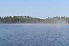 Kipawa Fog 2 (Myusername432) Tags: water lake kipawa quebec canada 3 seasons camp nature landscape trees sky fog morning
