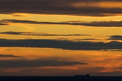 silhouette (charlesgyoung) Tags: finland helsinki charlesyoung nikon nikonphotography nikondx travelphotography gulfoffinland balticsea sunset