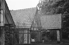 Tatra Receptions (photo 5) (Matthew Paul Argall) Tags: smenasymbol 35mmfilm kentmerepan100 100isofilm blackandwhite blackandwhitefilm architecture building