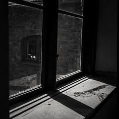 Analog photo: window light, the mill in Kvarnviken, Bromma Sweden (linbjo@tele2.se) Tags: blackwhite blackandwhite naturallight window monochrome blackwhitephotos