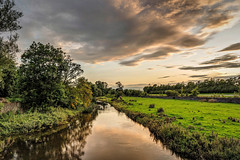 Dusk on the River Nanny (dmoon1) Tags: sonya6500 nanny meath river sunset