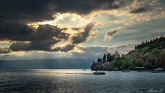 Ohrid Lake, Macedonia (Adrian.L SnapJoy) Tags: ohrid macedonia europe balkan church orthodox sunset lakes boat travel landscapes cloudy mountains sonya7 zeiss photografy explore flickr inexplore