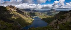 Llyn Llydaw (Phil-Gregory) Tags: snowdonia snowdon llyn llydaw scenicsnotjustlandscapes sigma18250macro sky water wideangle panorama clouds countryside cloudscape light