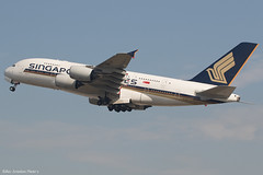 9V-SKF (Baz Aviation Photo's) Tags: 9vskf airbus a380841 singapore airlines heathrow runway 27l sq305 sin sia sq egll lhr