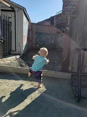 Big steps (quinn.anya) Tags: eliza toddler step playarea westbraebiergarten