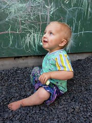 Chalk fun (quinn.anya) Tags: eliza toddler westbraebiergarten chalk
