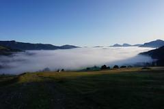 DSC00035 (Bergwandern Alpen) Tags: alpen alps bergwandern hiking ybrig nebelmeer morgendämmerung laucheren buoffenalp oberiberg wolkenmeer clouds