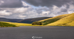Touch of sunlight (Christian Lawrence Photography) Tags: dam reservoir tree sunlight water elan valley longexposure wales rhayader landscapephotography beautiful destination