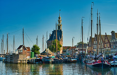Hoorn - Hoofdtoren (Ventura Carmona) Tags: nederland paisesbajos niederlande netherlands noordholland hoorn puerto hoofdtoren venturacarmona