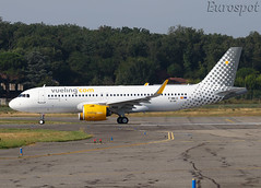 F-WWID Airbus A320 Neo Vueling (@Eurospot) Tags: ecnfj fwwid airbus a320 neo 9144 vueling toulouse blagnac
