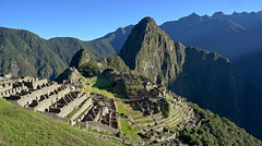 Morning postcard of Machu Picchu (Chemose) Tags: sony ilce7m2 alpha7ii mai may pérou peru machupicchu landscape paysage montagne mountain cité city architecture light lumière matin morning ombre shadow hdr postcard cartepostale