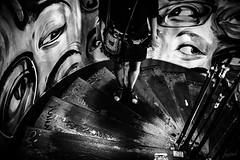 Jugement. (LACPIXEL) Tags: jugement juzgar juicio judgment judgement juger judge regard mirada look gaze yeux ojos eyes femme woman mujer jupe falda skirt escaleras escaliers stairs noiretblanc blancoynegro blackandwhite sac bolsademano bag nikon nikonfrance nikonfr flickr lacpixel