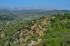 landscape of the Rhodes island :) (green_lover (your COMMENTS are welcome!)) Tags: landscape hills rhodes asklipio green travels view greece cloudless explore rodos