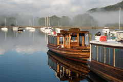 Ambleside Reflections (Nick Thorne, Bodian Photography) Tags: 2017 ambleside boat bybodianphotography bynickthorne clouds cumbria england flickr geographicalfeatures lake lakedistrict light location objects photographer reflections sign themed transport weather year colour