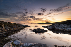 archipelago sunset (Ivan Mæland) Tags: sunset water sky norway d850 nikon archipelago