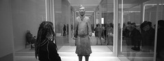 Terracotta Warriors (@fotodudenz) Tags: hasselblad xpan film rangefinder 30mm ultra wide angle panorama panoramic 2019 35mm melbourne victoria australia national gallery terracotta warriors exhibition ilford hp5 plus
