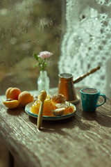August rain (kinmegami) Tags: miniatureflowers miniature polymerclay 16 cezve handmade