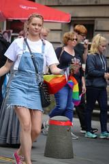 Sell Prefer not to Say (Terry Moran aka Tezzer57) Tags: edinburghfringe scotland promotion promote summer2019 edinburgh fringe street uk rainbowflag prefernottosay