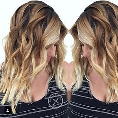 20 Les Plus Chaudes De La Couleur Des Cheveux, Des Idées: Deux Tons De Coiffures (votrecoiffure) Tags: 2018 cheveux coiffures haircolor