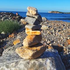 F o l l y (Ladyhelen_) Tags: stone stones energy sea ocean landscape seascape folly helen blue bluesky sky coast bluesea dreams dreamer words poetry verses poem affirmation soul bodyandsoul mysoul