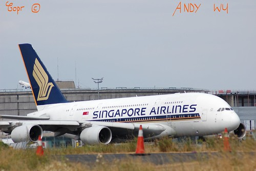 Airbus A380 Singapore Airlines (07/26/2019)