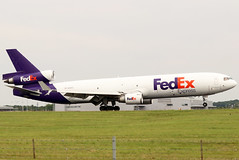 N602FE_01 (GH@BHD) Tags: n602fe mcddouglas mcdonnelldouglas md11 md11f fdx fx fedex federalexpress fedexexpress trijet cargo freighter aircraft aviation airliner stn egss londonstanstedairport stanstedairport stansted