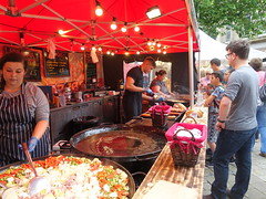 Street food stall at Bolton Food Festival 2019 (Tony Worrall) Tags: nw northwest north update place location uk england visit area attraction open stream tour country item greatbritain britain english british gb capture buy stock sell sale outside outdoors caught photo shoot shot picture captured ilobsterit instragram stalls market foodies eat stuff event annual bolton boltonfoodfestival foodfest streetfood sausage meat pans candid people shop