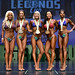 Bikini B 4th Lopez 2nd Scannell 1st Martin-Johnson 3rd Lindsay 5th Jaward
