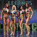 Bikini Grandmasters 4th Cote 2nd Sams 1st Monette 3rd Girolamo