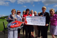 Lady Captain Alison Evans Charity OPEN Cheque Presentation