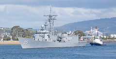 HMAS Melbourne (~ydoc~) Tags: navy frigate ran warship royalaustraliannavy ship boat devonport mersey