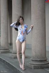 陳俐璇 (玩家) Tags: 2019 台灣 台北 自來水博物館 人像 外拍 正妹 泳裝 比基尼 模特兒 陳俐璇 戶外 定焦 無後製 無修圖 taiwan taipei portrait glamour model girl female bikini betty outdoor d610 85mm prime