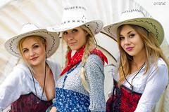 _MG_5908 (Mikhail Lukyanov) Tags: summer wagon wildwest women girls beautiful cute portrait models posing