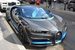 Bugatti Chiron (Monde-Auto Passion Photos) Tags: voiture vehicule auto automobile bugatti chiron car sportive rare rareté hypercar carbone princedegalles france paris