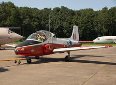 BAC Jet Provost T.5A XW290 (phillipwilmshurst1) Tags: bac jet provost t5a xw290 bruntingthorpe
