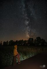 Raquel la via y el rio (JoseQ.) Tags: raquel vialactea riobullaque noche nocturna cielo estrellas milkway stars largaexposicion sonyalpha puente eltorno ciudadreal lamancha