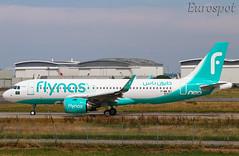 F-WWBJ Airbus A320 Neo Flynas (@Eurospot) Tags: hsns25 9163 airbus a320 neo fwwbj toulouse blagnac flynas