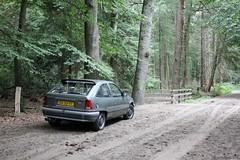 Opel Kadett E 1.4i 1989 (XV-30-VT) (MilanWH) Tags: opel kadett e 14i 1989 grey grau katalysator hatchback xv30vt