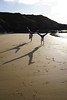 H and TM (Nik13042) Tags: a6000 handstand beach sunset towyn