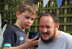 Canon EOS 60D - Summer in the Garden - Blake and Chris (Gareth Wonfor (TempusVolat)) Tags: garethwonfor tempusvolat mrmorodo gareth wonfor tempus volat garden summer 2019 lads phone mobilephone uncle blake chris
