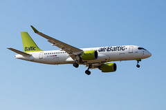 YL-CSD Air Baltic Bombardier CSeries CS300 (amisbk196) Tags: unitedkingdom aircraft gatwick aviation amis flickr 2019 uk airport ylcsd airbus220 airbaltic bombardier cseries cs300