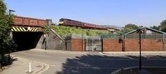 47746 47854 Mill Race, Attercliffe 25 Aug 19 (doughnut14) Tags: 47746 47854 rail diesel loco cum wcrc millrace york chesterfield 1z75 attercliffe midland sheffield saab shuttle