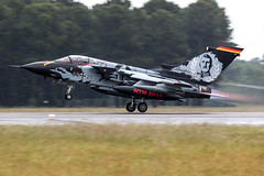 43-25 / German Air Force / Panavia Tornado IDS (Charles Cunliffe) Tags: canon7dmkii aviation montdemarsanairbase lfbm germanairforce gaf luftwaffe panaviatornado panaviatornadoids 4325