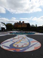 'Gateway' by Joana Vasconcelos, Jupiter Artland (davidmcnuh) Tags: scotland edinburgh jupiterartland art sculpture sculpturepark garden park gateway vasconcelos joanavasconcelos pool